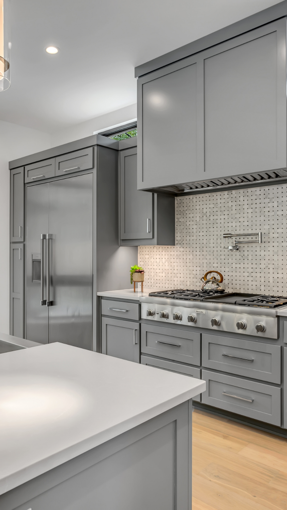 Grey Kitchen For Home Evaluation