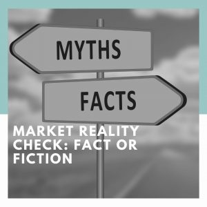Real Estate Fact or Fiction Directional Sign